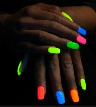 Glow In The Dark Nail Paints