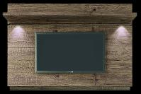Unique TV Wall Backing Panel with Lights